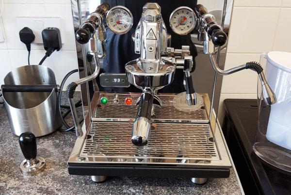 ECM Synchronika Dual Boiler Coffee Machine. Manchester.