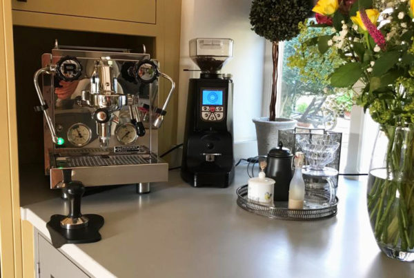 Rocket R58 and Eureka Atom Coffee Grinder