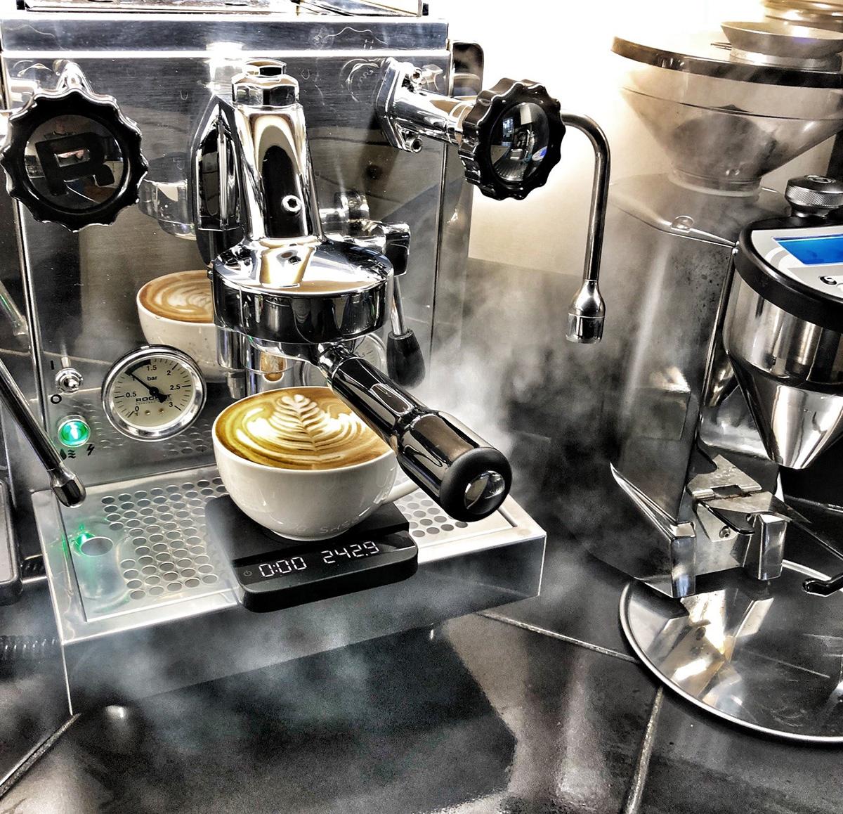Rocket R60V Espresso Machine and Rocket Fausto Grinder at ...