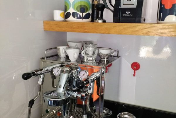 ECM Mechanika Profi Coffee Machine. Peterborough