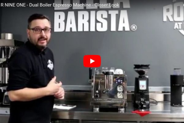 Rocket R NINE ONE Espresso Machine. Closer Look Review