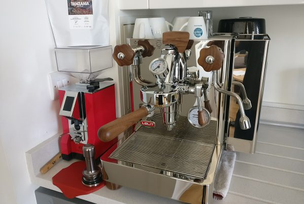 Lelit Bianca Dual Boiler Espresso Machine.